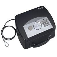 Portable Digital Safe with Cable