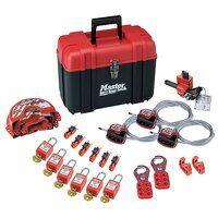 Valve & Electrical Lockout Toolbox Kit 23-Piece