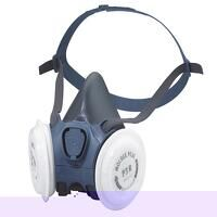 Series 7000 Half Mask (Medium) 2 x P3 R Filters