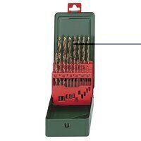 HSS-CO Drill Bit Set 19 Piece