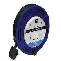 Cassette Cable Reel 240V 13A 4-Socket Thermal...