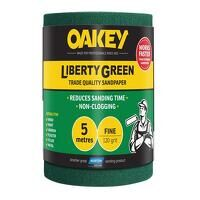 Liberty Green Sanding Roll 115mm x 5m Fi...