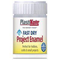 Fast Dry Enamel Paint B35 Bottle Chrome 59ml