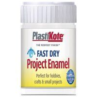 Fast Dry Enamel Paint B4 Bottle Gloss White 59ml