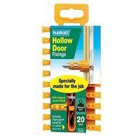 SDR556 Hollow Door Fixings (20)