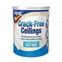 Crack-Free Ceilings Smooth Matt 2.5 litre