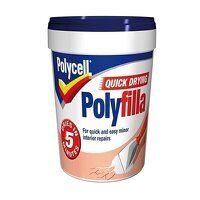 Multipurpose Quick Drying Polyfilla Tub 1kg