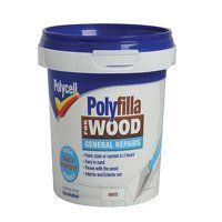 Polyfilla for Wood General Repairs White Tub 380g