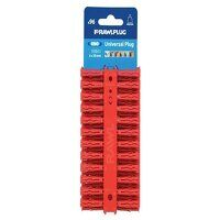Red UNO® Plugs 6 x 28mm (Card 96)