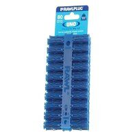 Blue UNO® Plugs 8 x 32mm (Card 80)