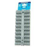 Grey UNO® Plugs 10 x 36mm (Card 80)
