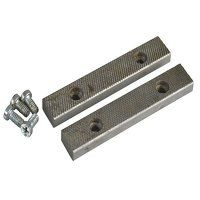 PT.D Replacement Pair Jaws & Screws 115mm (4.1/2in...