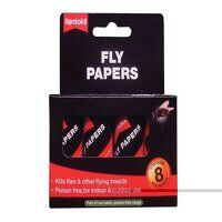 Fly Papers (Pack 8)