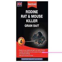 Rodine Rat & Mouse Killer Grain Bait (Sachets 4)