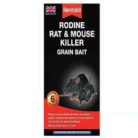 Rodine Rat & Mouse Killer Grain Bait (Sachets 6)