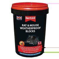 Rat & Mouse Weatherproof Blocks (Tub 10)