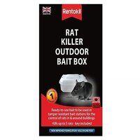 Rat Killer Outdoor Bait Box