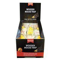 Wooden Mouse Trap (Bulk Pack 30)