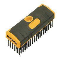 Heavy-Duty Scrub Brush Soft Grip 200mm (8in) NO Ha...