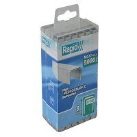 140/8 8mm Galvanised Staples Poly Pack 5...
