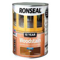 10 Year Woodstain Oak 2.5 litre