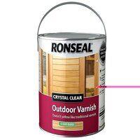 Crystal Clear Outdoor Varnish Matt 750ml
