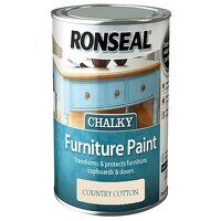 Chalky Furniture Paint Country Cream 750ml