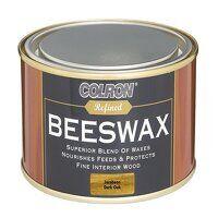 Colron Refined Beeswax Paste Dark Oak 400g