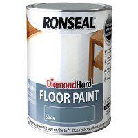 Diamond Hard Floor Paint Satin Slate 2.5 litre