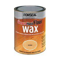 Diamond Hard Floor Wax Natural Oak 2.5 litre