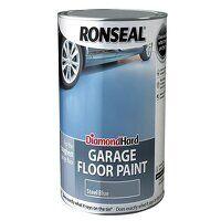 Diamond Hard Garage Floor Paint Steel Blue 5 litre