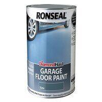 Diamond Hard Garage Floor Paint Slate 5 litre