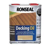 Decking Oil Natural Pine 2.5 litre