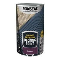 Ultimate Protection Decking Paint Blackcurrant 5 l...