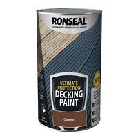 Ultimate Protection Decking Paint Chestnut 5 litre