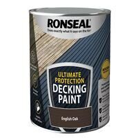 Ultimate Protection Decking Paint English Oak 2.5 ...