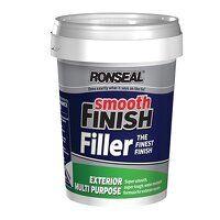 Smooth Finish Exterior Multipurpose Ready Mix Filler Tub 1.2kg