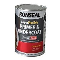 Super Flexible Wood Primer & Undercoat Grey 750ml