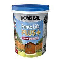 Fence Life Plus+ Medium Oak 5 litre