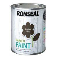 Garden Paint English Oak 250ml