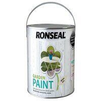 Garden Paint White Ash 2.5 litre