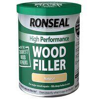 High-Performance Wood Filler White 550g