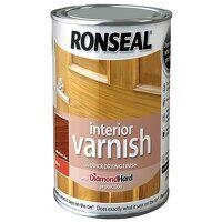 Interior Varnish Quick Dry Gloss Medium Oak 750ml