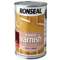 Interior Varnish Quick Dry Gloss Teak 250ml