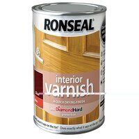 Interior Varnish Quick Dry Gloss Teak 750ml