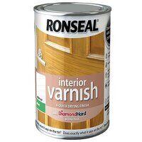 Interior Varnish Quick Dry Matt White Ash 750ml