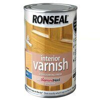 Interior Varnish Quick Dry Satin Beech 250ml