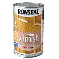 Interior Varnish Quick Dry Satin Beech 750ml