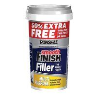 Smooth Finish Multipurpose Wall Filler Ready Mixed 600g +50%