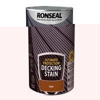 Ultimate Protection Decking Stain Cedar 5 litre